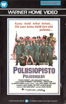 Police Academy - Finnish VHS movie cover (xs thumbnail)