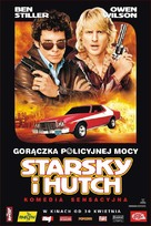 Starsky And Hutch - Polish Movie Poster (xs thumbnail)