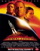 Armageddon - British Video release movie poster (xs thumbnail)