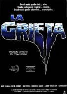 The Rift - Spanish Movie Poster (xs thumbnail)