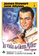 The Glenn Miller Story - Spanish Movie Poster (xs thumbnail)
