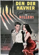 The Killers - Danish Movie Poster (xs thumbnail)