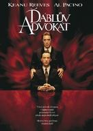 The Devil's Advocate - Czech DVD movie cover (xs thumbnail)