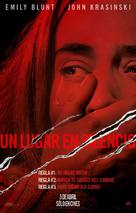 A Quiet Place - Bolivian Movie Poster (xs thumbnail)