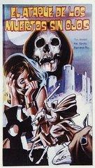El ataque de los muertos sin ojos - Spanish Movie Poster (xs thumbnail)