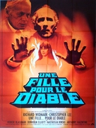 To the Devil a Daughter - French Movie Poster (xs thumbnail)