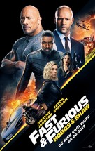 Fast & Furious Presents: Hobbs & Shaw - Vietnamese Movie Poster (xs thumbnail)
