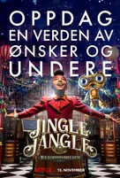 Jingle Jangle: A Christmas Journey - Norwegian Movie Poster (xs thumbnail)