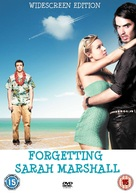 Forgetting Sarah Marshall - British DVD movie cover (xs thumbnail)