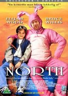 North - Danish DVD movie cover (xs thumbnail)