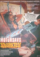 The Texas Chain Saw Massacre - Danish Movie Poster (xs thumbnail)
