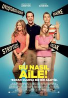 We're the Millers - Turkish Movie Poster (xs thumbnail)