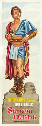 Samson and Delilah - British Movie Poster (xs thumbnail)