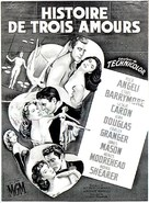 The Story of Three Loves - French Movie Poster (xs thumbnail)