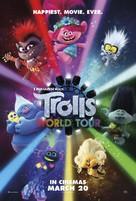 Trolls World Tour - New Zealand Movie Poster (xs thumbnail)