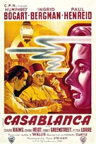 Casablanca - French Re-release poster (xs thumbnail)