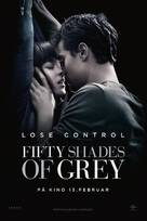 Fifty Shades of Grey - Norwegian Movie Poster (xs thumbnail)