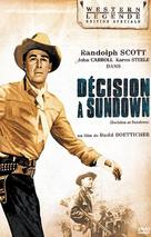 Decision at Sundown - French DVD movie cover (xs thumbnail)