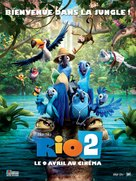 Rio 2 - French Movie Poster (xs thumbnail)