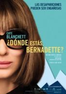 Where'd You Go, Bernadette - Colombian Movie Poster (xs thumbnail)