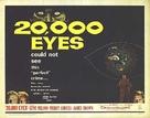20,000 Eyes - Movie Poster (xs thumbnail)