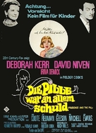 Prudence and the Pill - German Movie Poster (xs thumbnail)