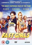 Fast Girls - British DVD cover (xs thumbnail)