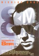 8mm - Spanish Movie Poster (xs thumbnail)