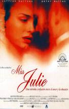 Miss Julie - Spanish Movie Poster (xs thumbnail)