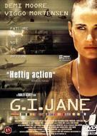 G.I. Jane - Danish DVD cover (xs thumbnail)