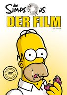 The Simpsons Movie - German DVD movie cover (xs thumbnail)