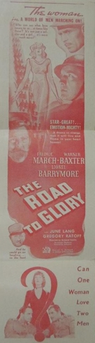 The Road to Glory - Movie Poster (xs thumbnail)