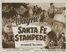Santa Fe Stampede - Re-release poster (xs thumbnail)