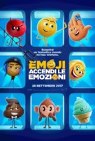 The Emoji Movie - Italian Movie Poster (xs thumbnail)