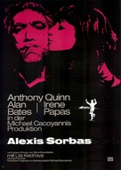Alexis Zorbas - German Re-release poster (xs thumbnail)