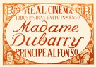 Madame DuBarry - Spanish Movie Poster (xs thumbnail)