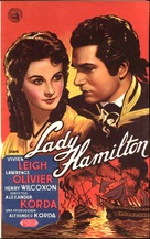 That Hamilton Woman - Spanish Movie Poster (xs thumbnail)