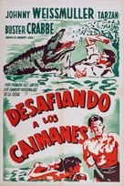 Swamp Fire - Argentinian Movie Poster (xs thumbnail)