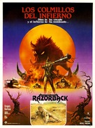 Razorback - Mexican Movie Poster (xs thumbnail)