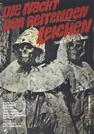 La noche del terror ciego - German Movie Poster (xs thumbnail)