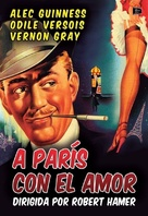 To Paris with Love - Spanish DVD cover (xs thumbnail)