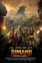 Jumanji: Welcome to the Jungle - Danish Movie Poster (xs thumbnail)