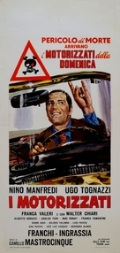 I motorizzati - Italian Movie Poster (xs thumbnail)