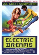 Electric Dreams - Italian Theatrical movie poster (xs thumbnail)