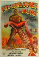Invaders from Mars - Argentinian Movie Poster (xs thumbnail)