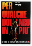 Per qualche dollaro in più - Italian Movie Poster (xs thumbnail)