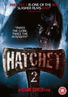 Hatchet 2 - British DVD movie cover (xs thumbnail)