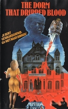 The Dorm That Dripped Blood - German VHS cover (xs thumbnail)