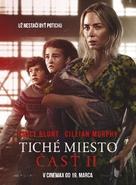A Quiet Place: Part II - Slovak Movie Poster (xs thumbnail)