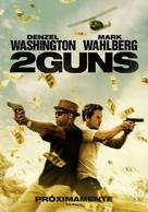2 Guns - Spanish Movie Poster (xs thumbnail)